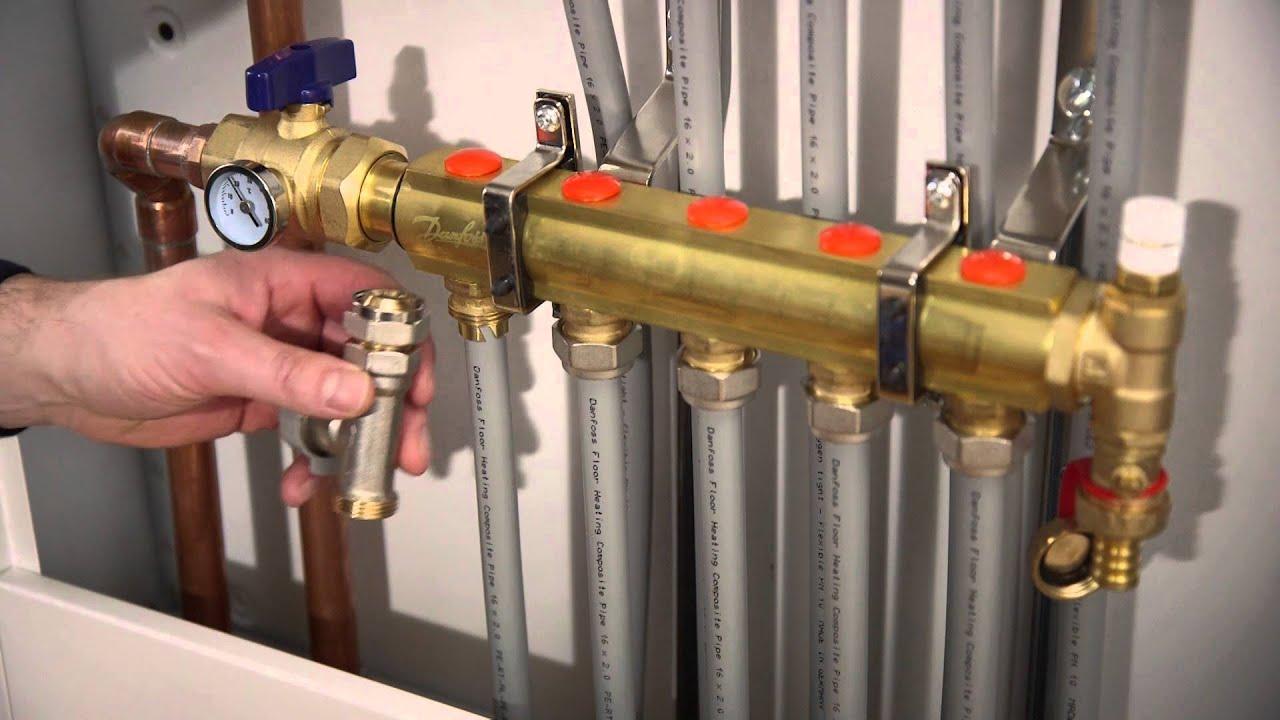 danfoss underfloor heating pictures [ 1280 x 720 Pixel ]