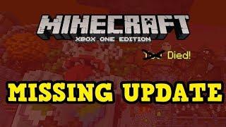 Minecraft Xbox One MISSING TU58 Update??