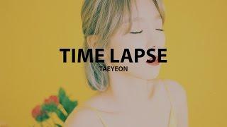 Taeyeon (태연) - time lapse [han/rom lyrics