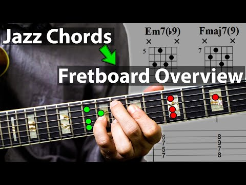 How To Really Explore The Fretboard with Jazz Chords