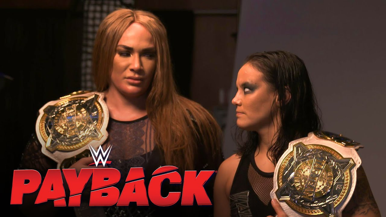 Shayna & Nia's first photo shoot as Women's Tag Team Champions: WWE Network Exclusive