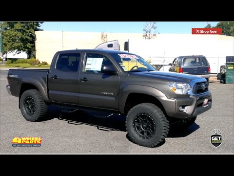 toyota tacoma 2012 build by 4 wheel parts sacramento ca youtube. Black Bedroom Furniture Sets. Home Design Ideas