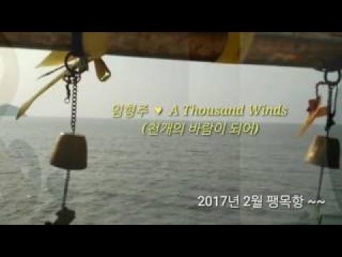 임형주 ~~ A Thousand Winds (가사 )n천개의 바람이 되어