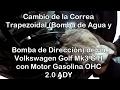 Cómo Cambiar la Correa Trapezoidal (Bomba Agua y Dirección) de un Volkswagen Golf Mk3 GTI Motor ADY