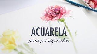 ACUARELA · TIPS PARA EMPEZAR A PINTAR