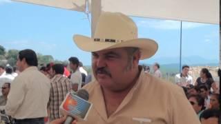 Jesus Zaleta Redondo alcalde de Tancoco invita a la Fiesta de la palma y el Sombrero 2015