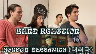 Download lagu WHITE BOYS REACT TO K-POP | Agust D - DAECHWITA (대취타) MV