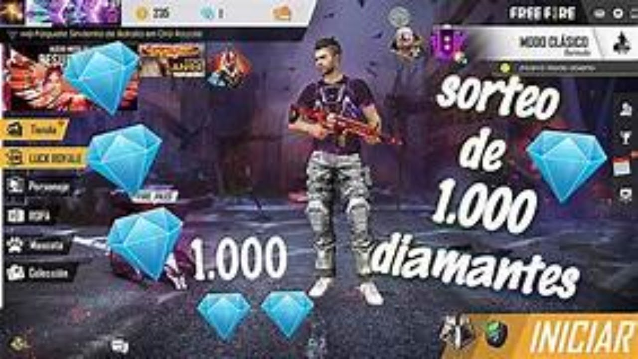 SORTEO DE 600 DIAMANTES EN VIVO