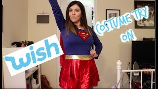 TRYING ON HALLOWEEN COSTUMES FROM WISH