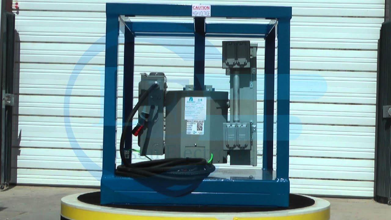 7.5 kVA Portable Power Distribution Center - 480V 3P Primary - 8 X ...