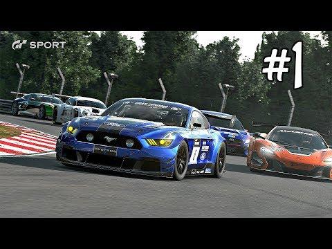 Gran Turismo Sport Walkthrough Part 1 - Campaign Mode | PS4 Pro Gameplay