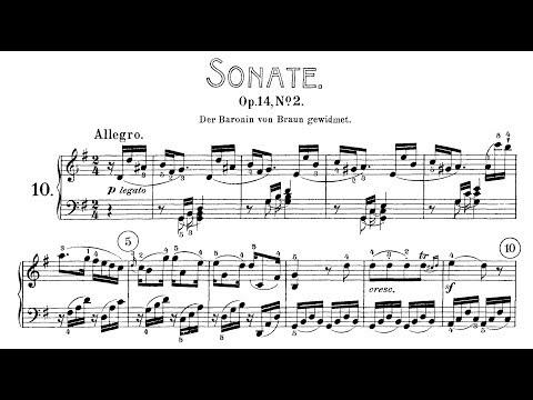 Beethoven: Sonata No.10 in G maj, Op.14 No.2 (Kovacevich, Yokoyama)