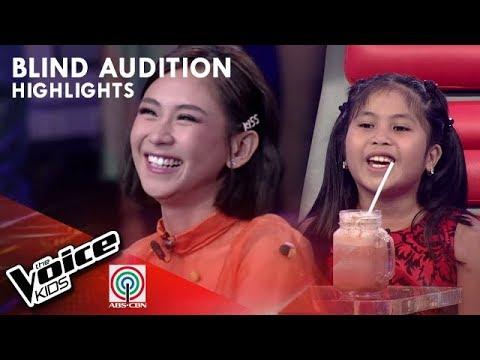 Yshara pinili na mapasama sa Team Sarah  The Voice Kids Philippines 2019