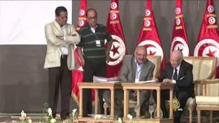 فوز رباعي الحوار التونسي بجائزة نوبل