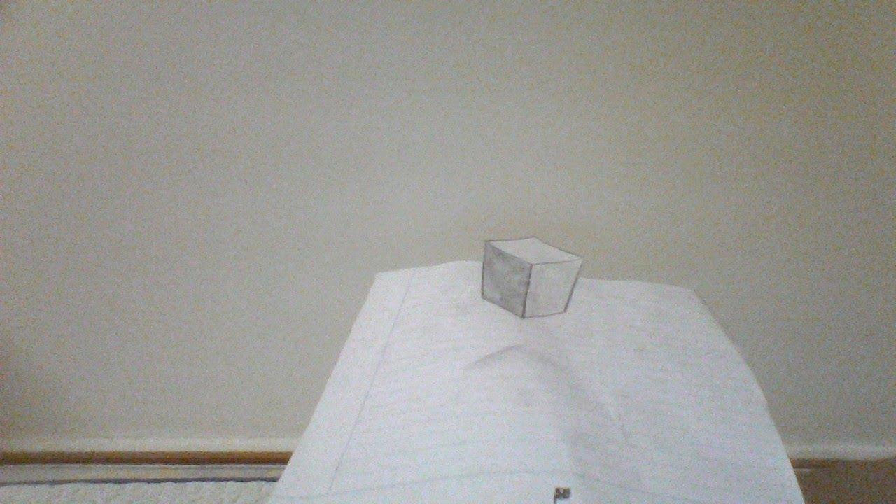 Hướng dẫn cách vẽ khối lập phương 3d đơn giản