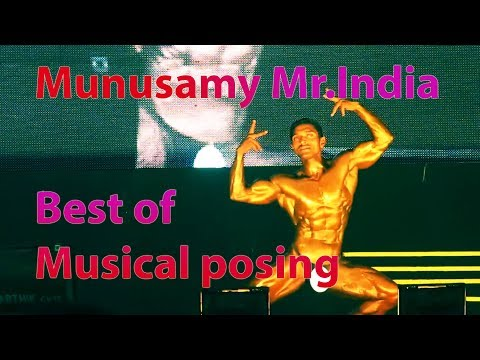 Munusamy Mr.India best of musical pose