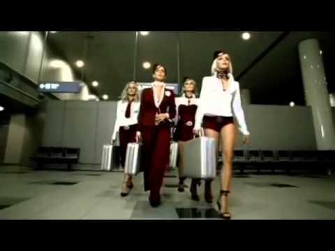 Группа «Блестящие» Клип «А я всё летала»