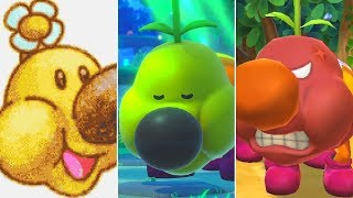 Evolution of Wiggler Minigames in Mario Party