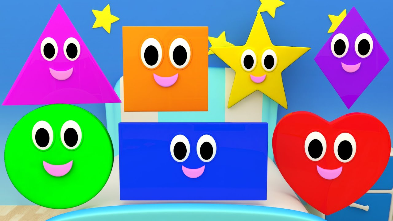 Shapes Songs Nursery Rhymes For Kids And Children Learn
