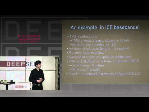 DeepSec 2010: All your baseband are belong to us by Ralf Philipp Weinmann