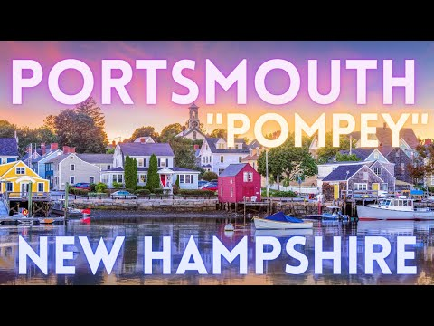 Portsmouth New Hampshire Walking Tour 4K HD