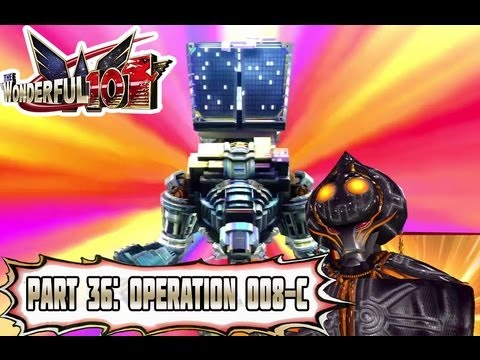 Wonderful 101 - Part 36: Operation 008-C: Platinum Robo Vs Giga-Goojin! [Normal Mode]