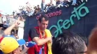 Capriles en Acarigua