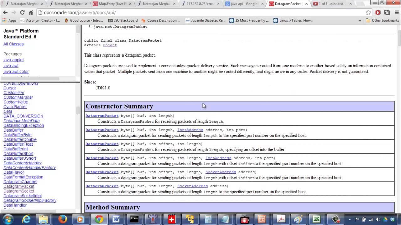 2 - Datagram Sockets Sender Receiver Unicast (Example 3 1)