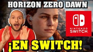 ¡HORIZON ZERO DAWN EN NINTENDO SWITCH, VOY A POR PALOMITAS! - Sasel - Panic Button - español