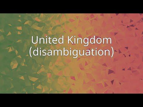 United Kingdom (disambiguation)