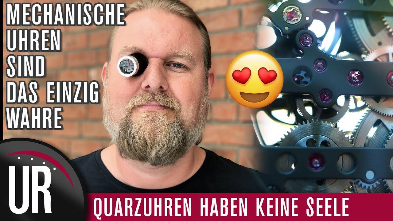 Download Meine Liebe zu mechanischen Uhren: Warum Quarzuhren keine Seele haben! :-)
