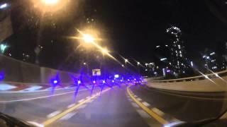【車載動画】阪神高速ナイトクルーズ 池田木部→堺・浜寺バイパス出口