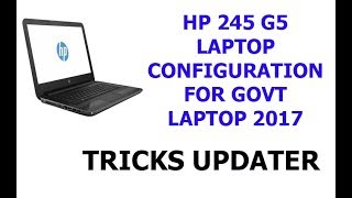 How To Remove Government Logo In Hp 245 G5 Laptop