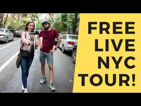LIVE NYC TOUR WITH SARAH & TOM 🗽 TIPS APPRECIATED!