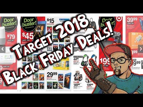 2018 Target Black Friday Deals! Video Games & Electronics!