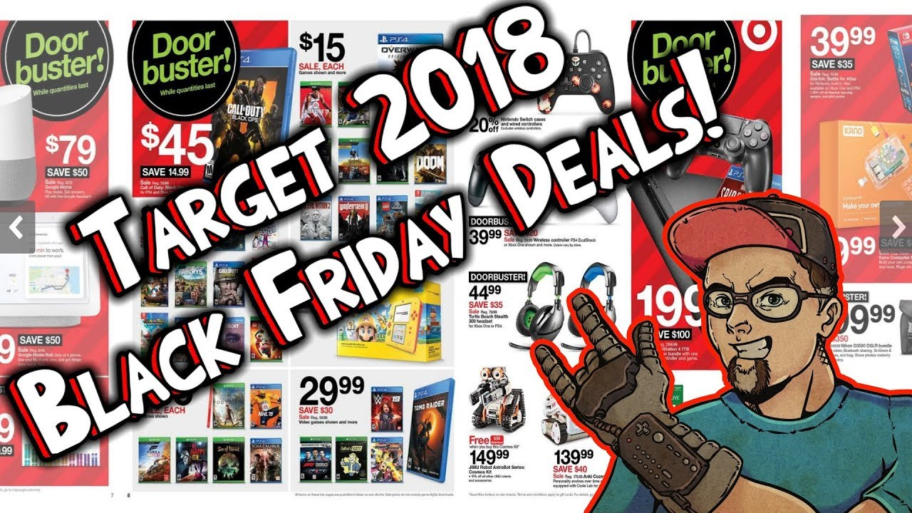Target Black Friday ad deals: The best from electronics, games, toys ...
