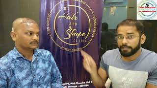 Interview of Hair Transplant Surgery Paitent - Live Interview