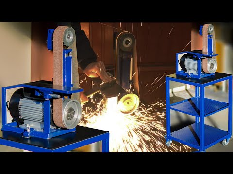 BELT GRINDER , LEVIGATRICE A NASTRO  ( MADE IN ITALY )
