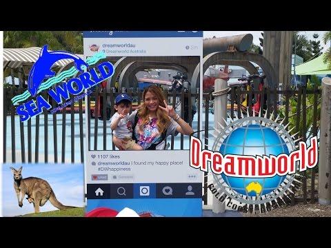 Family Trip to Gold Coast Australia -SeaWorld and DreamWorld