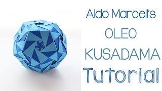 Origami Oleo Kusudama Tutorial