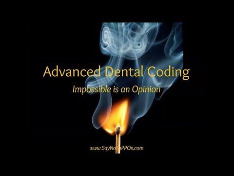 Webinar: Advanced Dental Insurance Coding 2018