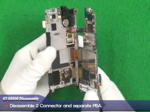 Jak rozebrać Samsung Wave s8500 GT-S8500 Disassembly