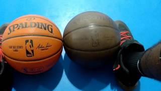 NBA basketball comparison to replica..2017 vlog