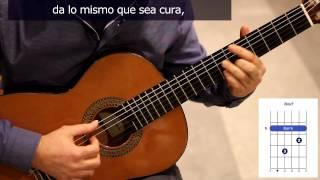 """Cómo tocar """"Cambalache"""" en guitarra / How to play """"Cambalache"""" on guitar"""