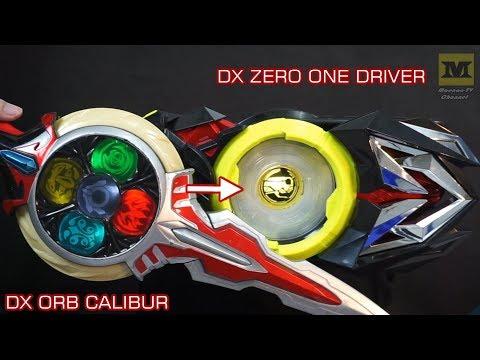 DX ZERO ONE DRIVER + DX ORB CALIBUR (Connected !) Kamen Rider Zero One & Ultraman ORB