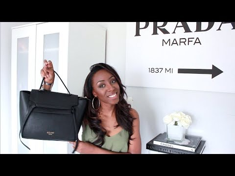 WHAT'S IN MY WORK BAG - CELINE BELT BAG DUPE | Style With Substance