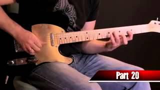 Красивое Гитарное соло выучив которое вы освоите 40 гитарных техник игры
