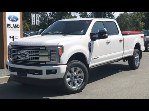 2019 Ford F-350 Platinum 713A 6.7L Diesel SuperCrew Review| Island Ford