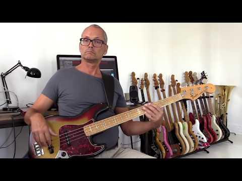 Hip A7 bassline with Harmonics tutorial