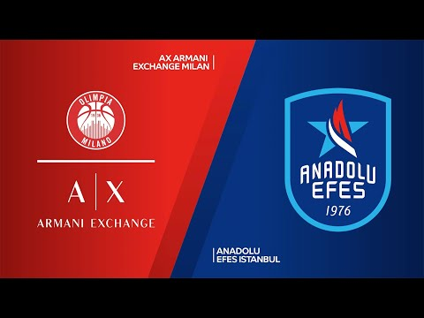AX Armani Exchange Milan-Anadolu Efes Istanbul Highlights | Turkish Airlines EuroLeague, RS Round 34